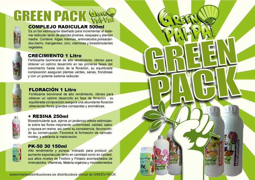 Green Pai-Pai abonos marihuana