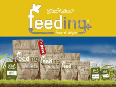 caracteristicas green house feeding powder
