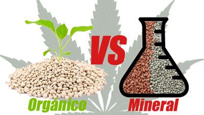 diferencias ogánico y mineral