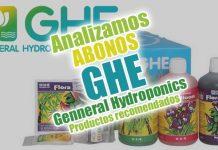 Productos recomendados GHE