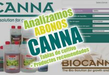 Analizamos fertilizantes canna