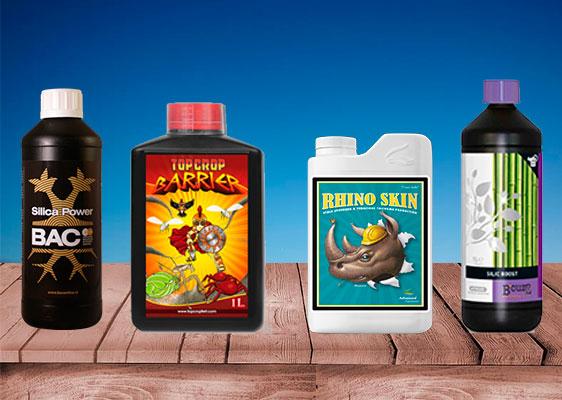 productos de cannabis con silicio