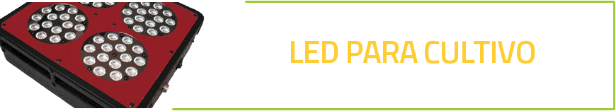 Iluminaci n led para cultivo de marihuana naturaleza for Leds para cultivo interior