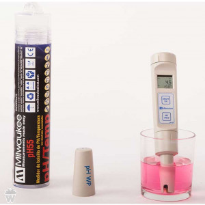 MEDIDOR de PH y TEMPERATURA MILWAUKEE WATERPROOF