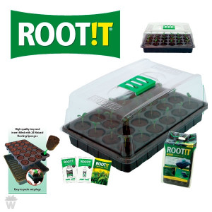 PROPAGADOR ROOT IT VALUE (KIT GERMINACIÓN Y ESQUEJES)