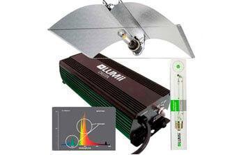 kits de iluminación cultivo interior